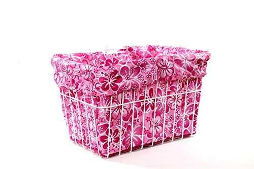Cruiser Candy Bicycle Basket Liner Tote Bag in One