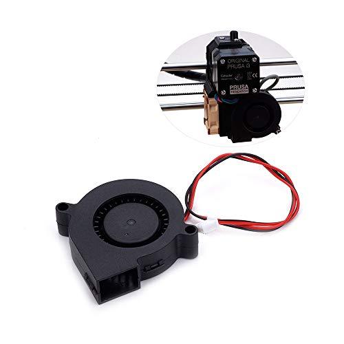 ExcLent 12V 5015 50 * 50 * 15Mm Silent Turbo Cooling Fan For Prusa I3 3D Printer