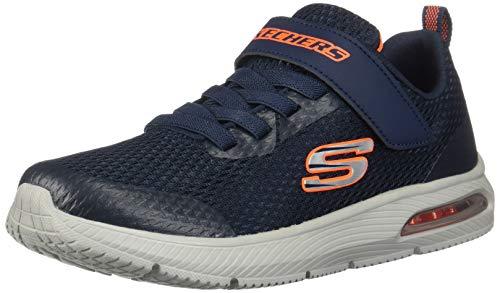 Skechers Jungen Sneaker Dyna-Air Synthetik glatt / ge blau Gr. 31
