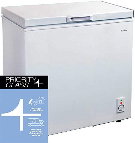 Sauber - Congelador Horizontal SERIE 1-146H - Eficiencia energética: A+ - Ancho: 76 cm - 142 litros - ENTREGA EN DOMICILIO