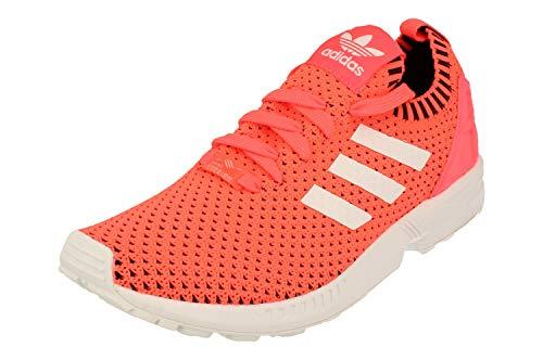 Adidas Originals ZX Flux PK Hombre Running Trainers Sneakers (UK 9 US 9.5 EU 43 1/3, Turbo fibreglass Black BA7375)