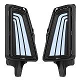 Luz de circulación diurna, luces de circulación diurna para coche, lámpara antiniebla, 3 colores, para Toyota Hiace 2019-2020