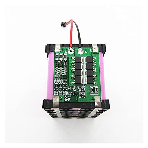 Tablero equilibrador de batería de litio, 18650BMS Nuevo 3S 25A 12V Batería de litio BMS Pulverizador eléctrico Pulverizador Circuito equilibrado Energía solar BMS 12. Carga de 6V ( Color : Black )