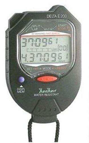 Hanhart Delta E200 Nero - Cronometro digitale manuale