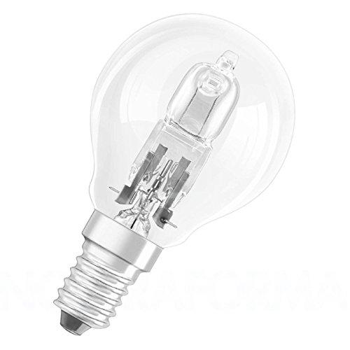 Pack di 3P45Pallina da golf/Mini Globo Alogena 28W = 35W, dimmerabile, a risparmio energetico, lampadine E14SES, Edison piccolo, 240V, 42W