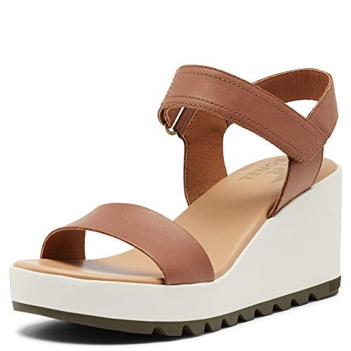 Sorel Women's Cameron Wedge Sandal - Velvet Tan - Size 5