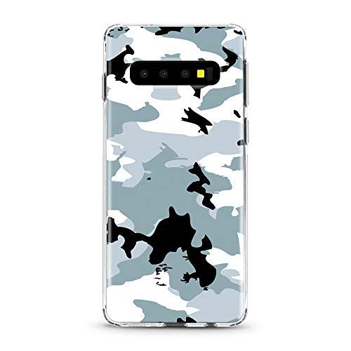 ITGM Casetic | Handyhülle für Samsung Galaxy S10 Camouflage Schutzhülle Cover Schutz Hülle Schale Case Motiv (Camouflage)