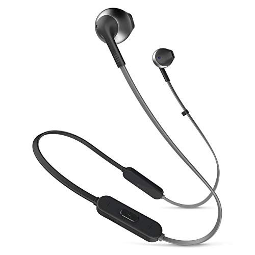 JBL Tune 205BT Mobiles Headset Binaural im Ohr Schwarz Kabellos - Mobile Headsets (Kabellos, im Ohr, Binaural, Im Ohr, 20-20000 Hz, Schwarz)