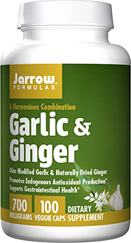 7. Jarrow Formulas – Garlic and Ginger