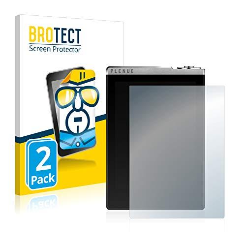 BROTECT Schutzfolie kompatibel mit Cowon Plenue D (2 Stück) klare Displayschutz-Folie
