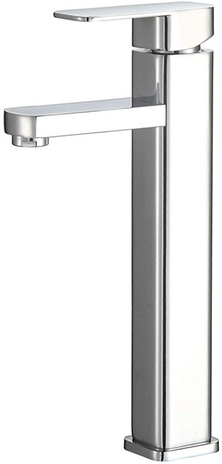 Anatbb Tap, Basin Faucet, Hot and Cold Faucet, Kitchen Bathroom Faucet, Stainless Steel Plating