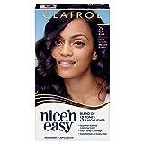 Clairol Nice'n Easy Permanent Hair Color, 2V Plum Black, 1 Count
