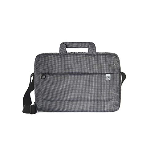 Tucano Loop Large - Slim Laptop bag for Notebooks, Ultrabooks and MacBooks up to 15 Inch - Grey