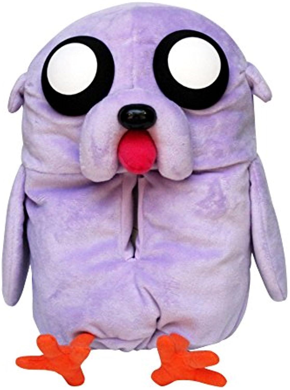 Adventure time stuffed animal tissue cover Jake (bird).