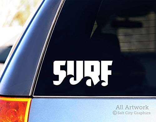 wave car window decal - 5