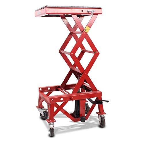 Caballete Elevador ConStands Moto Cross Mover Lift XL rojo para BMW G 450 X