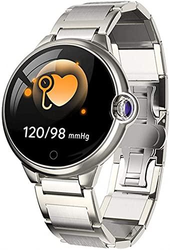 LLM Hombres y Mujeres DR88 Pulsera Inteligente 1.22 Pulgadas Pantalla táctil Recordatorio Anti-perdida Reloj Inteligente Deportivo Multifuncional(A)