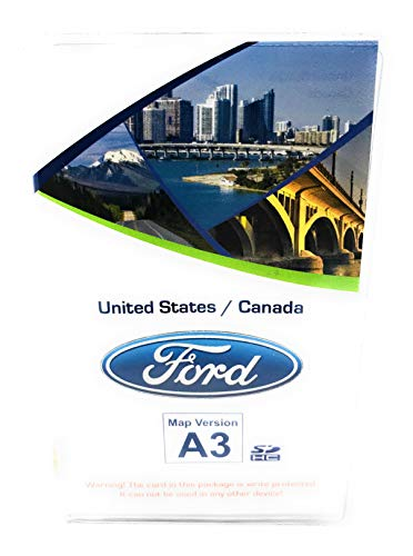 Ford Lincoln A9 SYNC SD Card Navigation 2019 US//Canada Map Updates A8 A7 A6 A5 by Ford