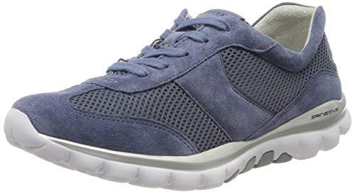 Gabor Shoes Damen Rollingsoft Sneaker, Blau (Nautic 26), 36 EU