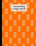Accounting Ledger Book: Window Accounting Ledger for Bookkeeping, 6 Column Account Record Journal / Notebook - Size 8.5