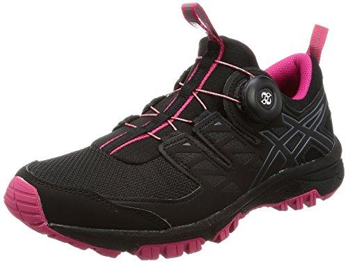 Asics ASICS Gel FujiRado Black Carbon Cosmo Pink 42