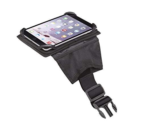 Flight Outfitters iPad Slimline Pilot-Friendly Compact Cockpit Flight Kneeboard, Small, Black