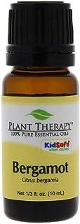 Plant Therapy Bergamot Organic Essential Oil 10 mL (1/3 oz) 100% Pure, Undiluted, Therapeutic Grade