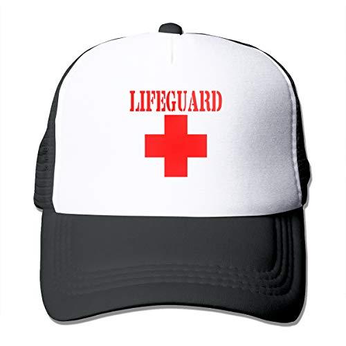Not Applicable Lifeguard Gear Gorra de béisbol Ajustable con Logotipo de Camionero,...