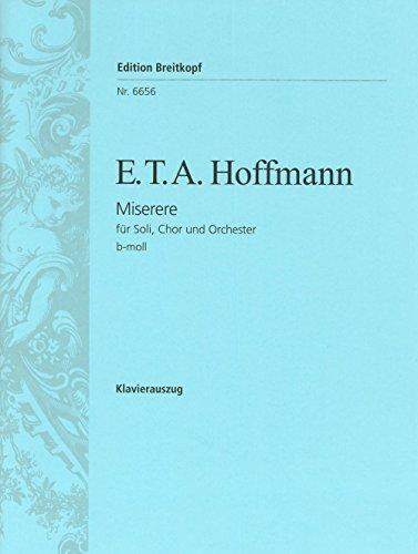 Miserere b-moll - Klavierauszug (EB 6656)