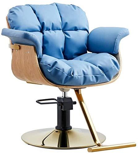Las sillas de oficina Silla giratoria de belleza peluquero profesional Styling sillas giratorias silla de la computadora de escritorio silla de salón de peluquería silla moderna cómodo suave elevación