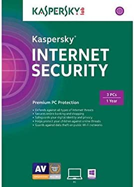 Kaspersky Internet Security 2015 3 User Traditional Disc product image