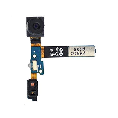 Frontcamera voor Samsung SM N910F Galaxy Note 4 camera module garantie reserveonderdelen reparatie