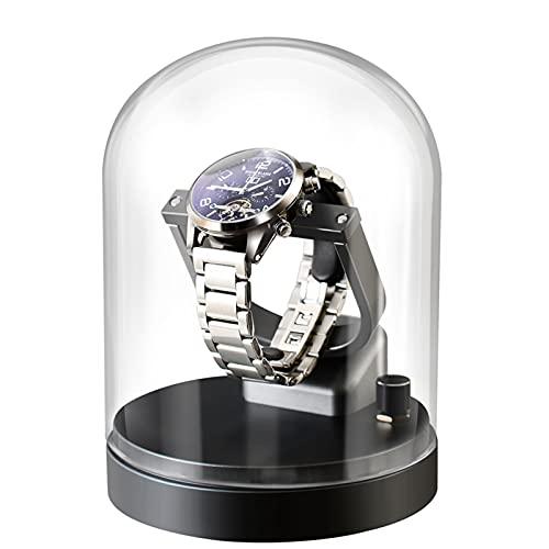 nunca te rindas Rotary Watch Shaker Mechanical Watch Reloj Automático Caja De Almacenamiento Single Shake Swinger Metal Rotating Placer Placer Hogar(Color:D)