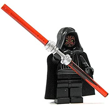 LEGO Star Wars Minifigure - Darth Maul with Dual Lightsaber