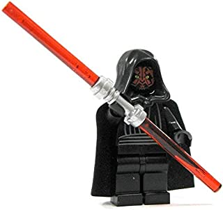 LEGO Star Wars Minifigure - Darth Maul with Dual Lightsaber