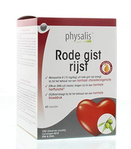 Physalis Capsules Supplementen Rode Gist Rijst