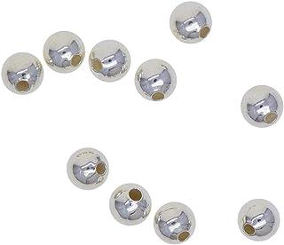 NC 10 Stuks 925 Sterling Zilveren Spacer Losse Kralen Sieraden Maken Charmes - 3 mm (1 mm gat)