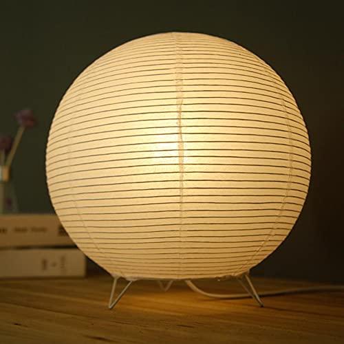 Yuemingsong Lighting Lámpara de Mesa de Papel Plegable, Lámpara de Mesa en Forma de Gota para Dormitorio, Estudio de Cabecera, Decoración de la Habitación de los Niños,B