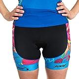 Zoot Damen Triathlon Hose Style Performance mit 2D Sitzpolster, Seitentaschen, LSF 50+ und Seamlink-Nähten Größe L