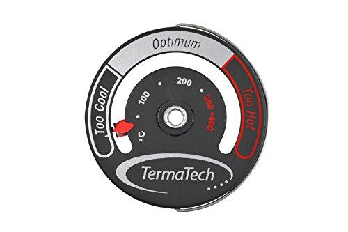 TermaTech Rauchrohr Thermometer mit Magnet