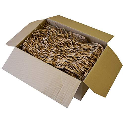 SCHREDDER PAPPE Füllmaterial Polstermaterial Füllstoff – Verpackungsmaterial zum Verpacken – 125 Liter