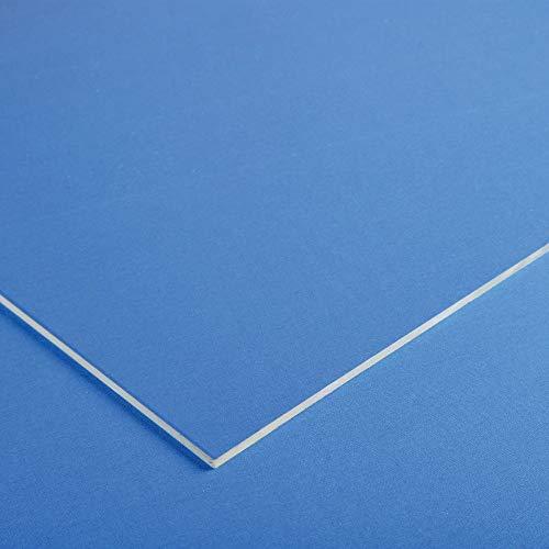 Acrylglas Platte/XT PMMA | 2mm stark | transparent - klar |Zuschnitt wählbar | Qualität von W&S GmbH-2mm-400mm x 400mm