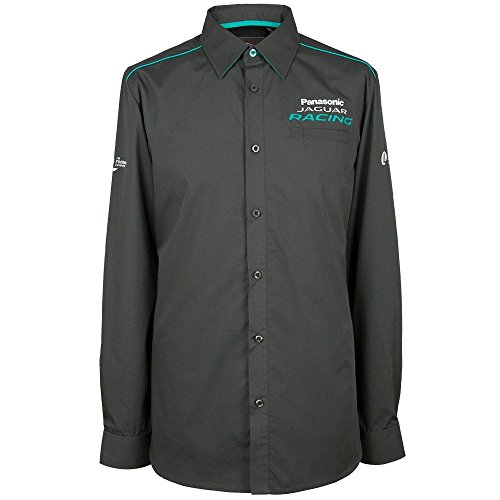 Jaguar Panasonic Racing Paddock Shirt Herren Langarm Hemd, XL