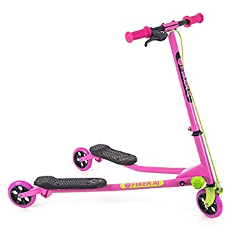 Yvolution Y Fliker Air A1 Wiggle Scooter - Pink