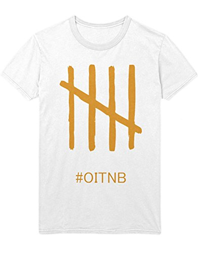 T-Shirt Orange is The New Black OITNB C210034 Weiß S