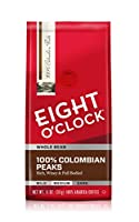 EIGHT O'CLOCK Colombian Whole Bean Coffee, 11 oz