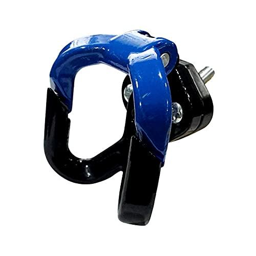 BGTR Motocicleta Moto Hook Hanger Multifunción Casco Gadget Glove Glove Globo Accesorios para motocicletas para gy6 Scooter Hook Hook Hook (Color : Azul)