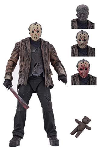 GD-Clothes Freddy vs Jason Action Figures-Ultimate 7' Scale Freddy vs Jason Action Figures Toys