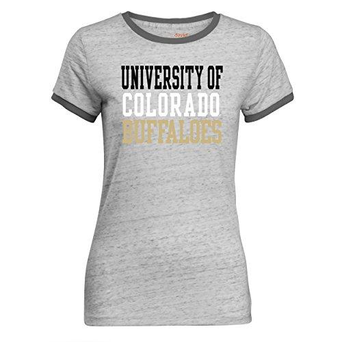 Camp David Damen Tomboy Ringer T-Shirt XXL anthrazit