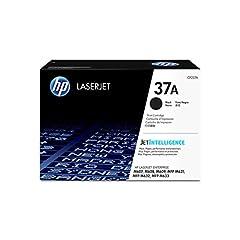 HP 37A (CF237A) toner cartridges work with: HP LaserJet Enterprise M607, M608, M609, M631, M632, M633 Original HP toner cartridges produce an average of 71% more usable pages than non-HP cartridges. HP 37 cartridge yield (approx.): 11,000 pages 37A t...